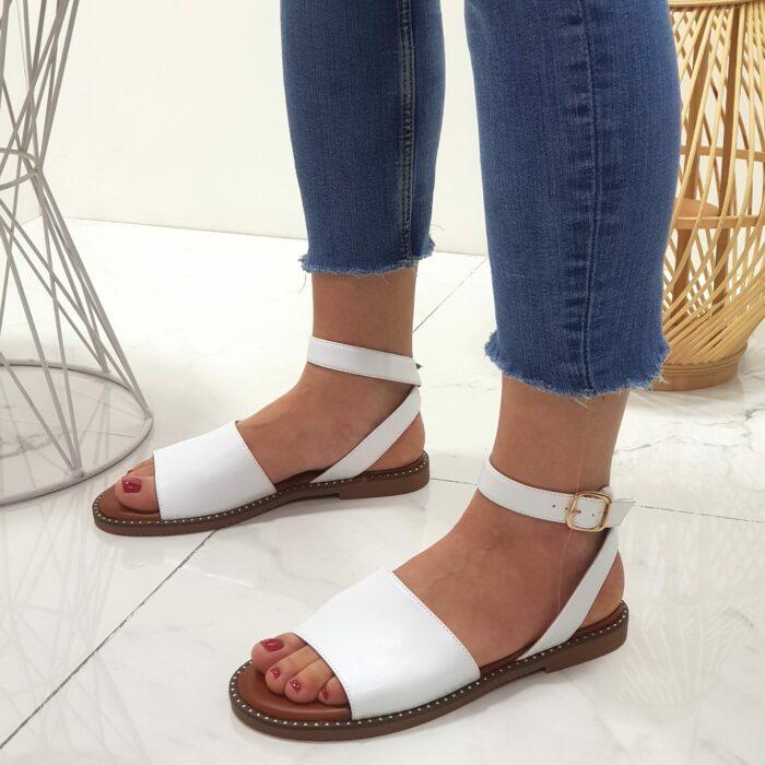 sandali donna bianco