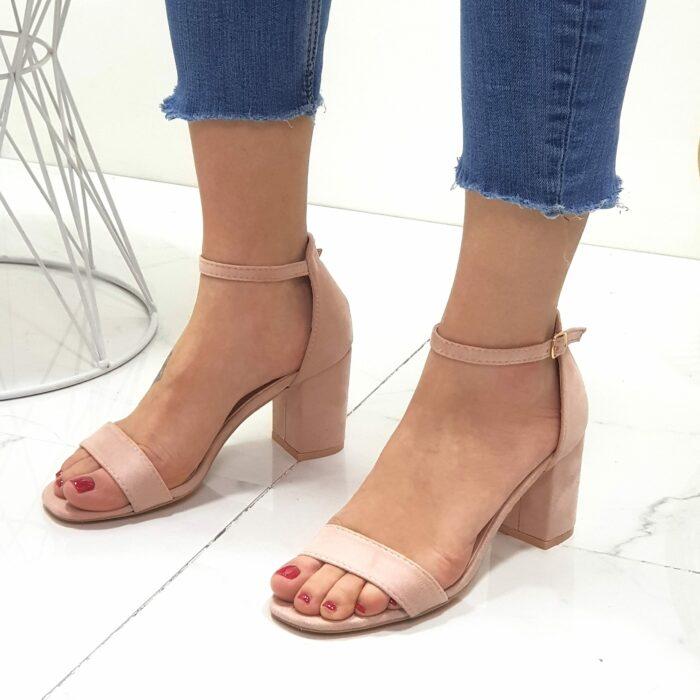 sandali tacco 7