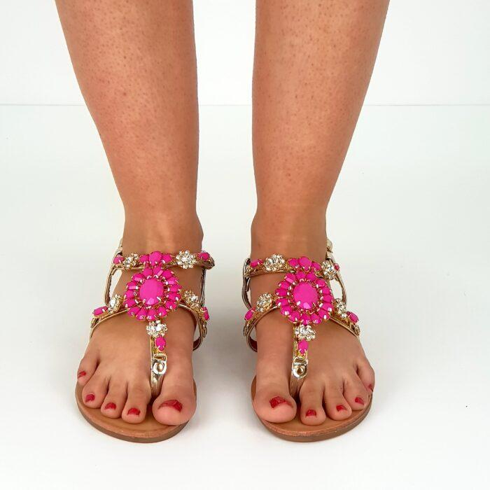 sandalo gioiello basso
