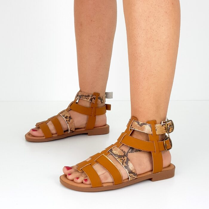 sandalo da donna basso