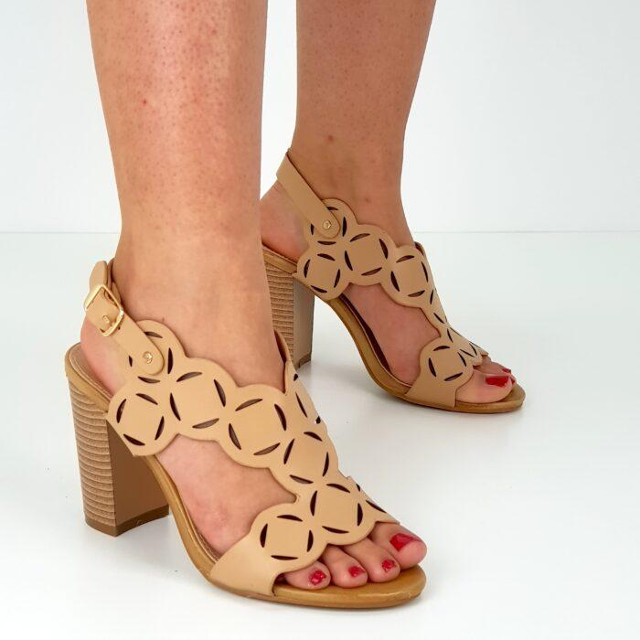 sandalo tacco 9 cm