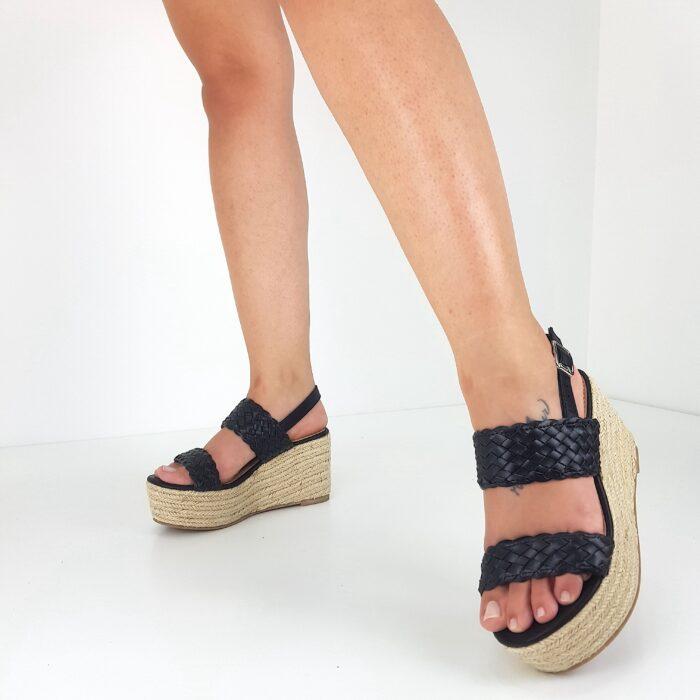 sandali zeppa 8